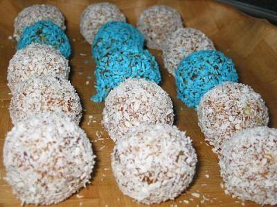 Шарики-конфетки из сухофруктов