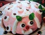 Торт «Божья коровка»