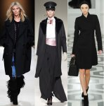 Уроки стиля: черное пальто