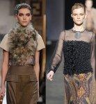 Какую одежду украсит мех