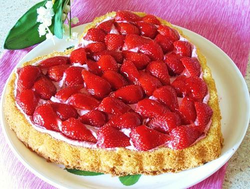 Торт «Страстное сердце»