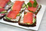 Датский рыбный сэндвич