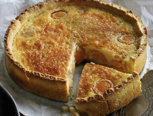 Абрикосовый торт