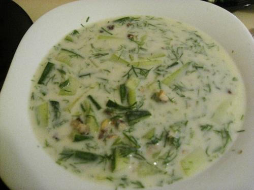Болгарский холодный суп