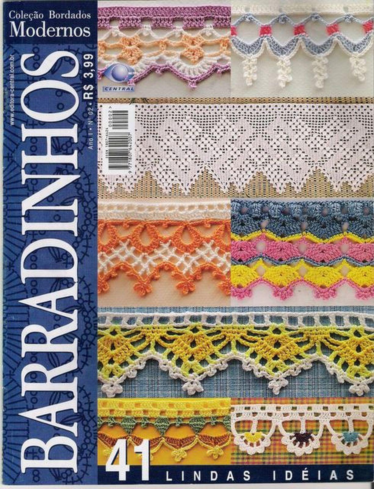 Коллекция журналов по вязанию Bordados Modernos Barradinhos 02
