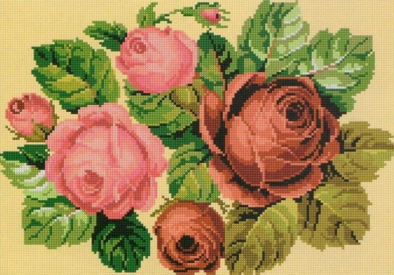 Вышивка крестом — один из самых популярных видов рукоделия