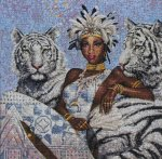 """Схемы для вышивки крестом """"Tigress"""" (Anchor)"""
