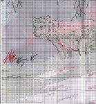 """Схема вышивки крестом """"Зимние кружева"""" (Dimensions)"""