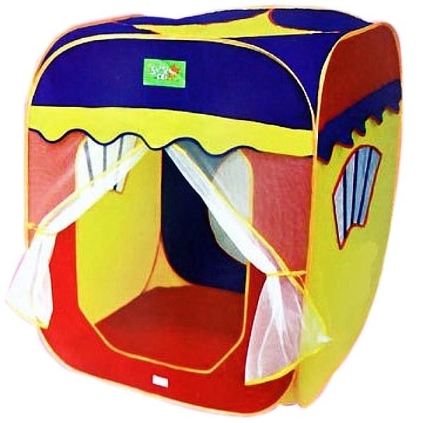 Детская палатка – первая собственная «недвижимость»