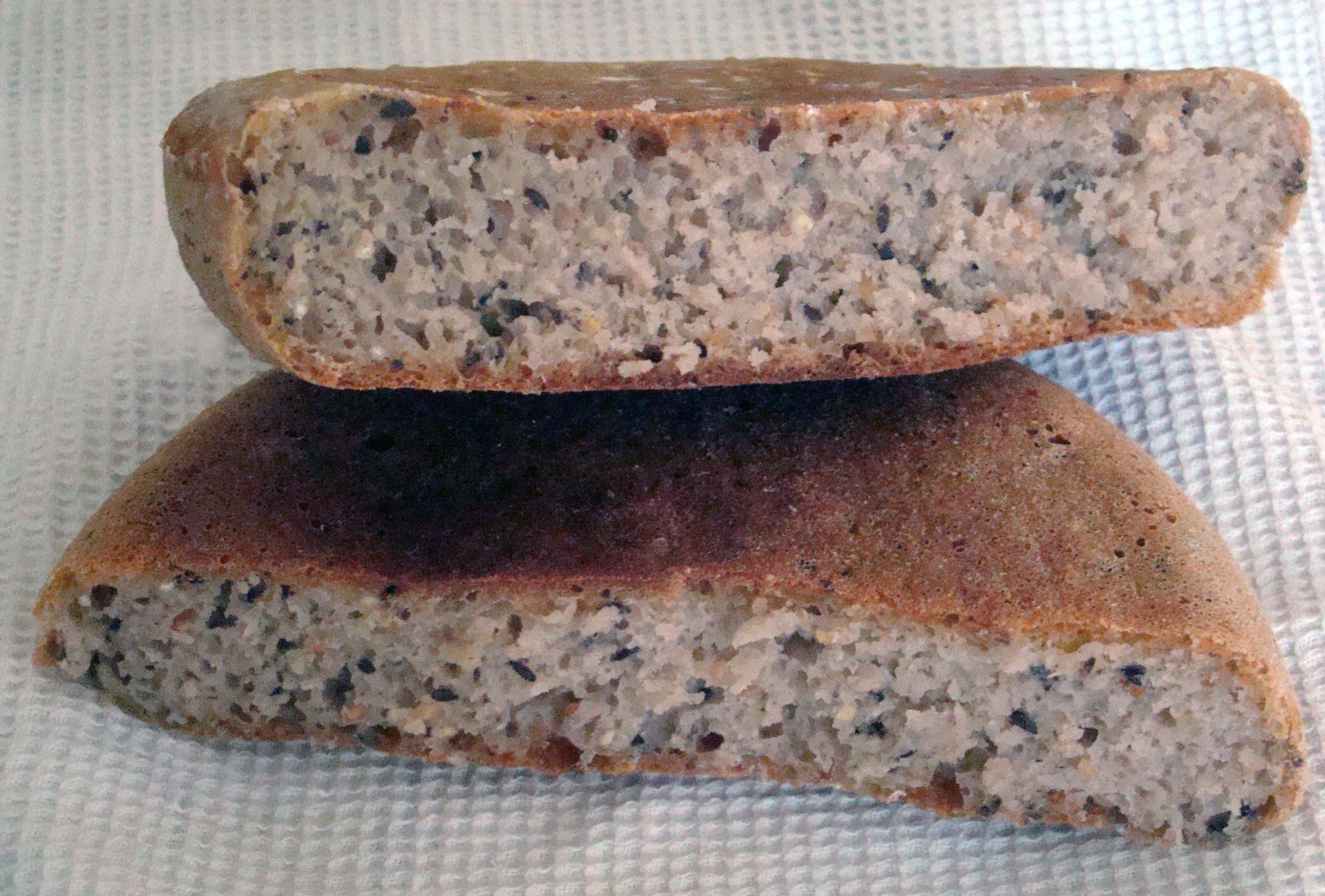 Хлеб 11 зерновых в мультиварке