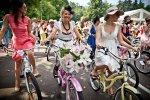 Фото репортаж Леди на велосипеде