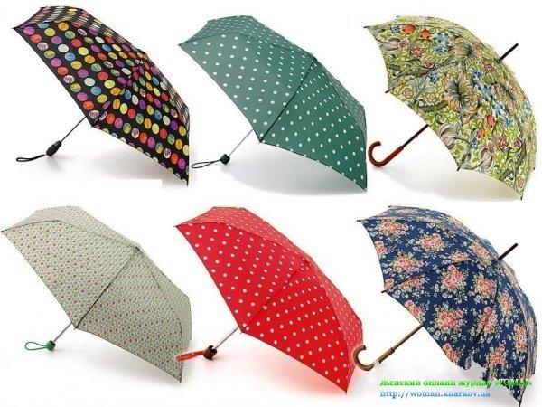 Актуальные зонты осень 2013?