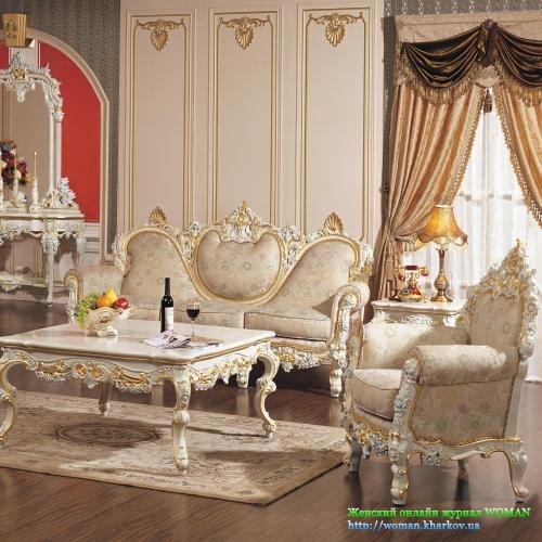 Китайские гостиные и диваны.