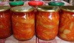 Лечо из болгарского перца в мультиварке