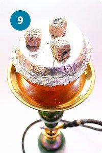 Как готовить кальян на чаше их фруктов