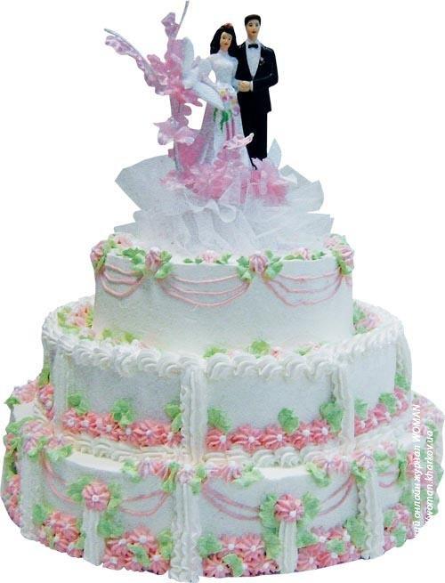 Каким должен быть свадебный торт?