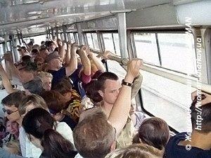В общественном транспорте секс