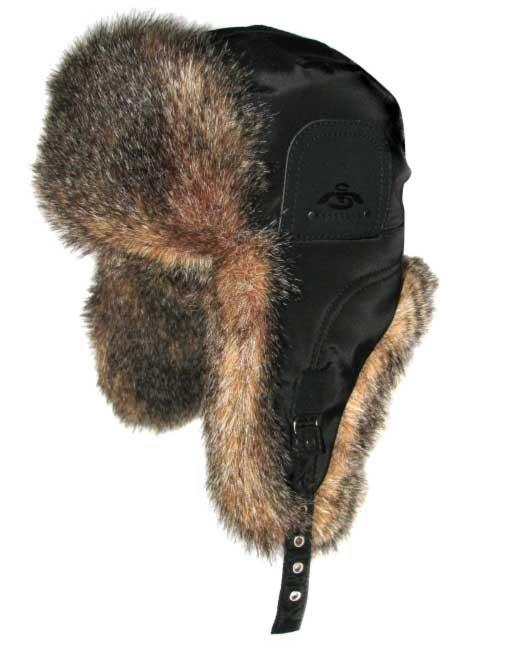 Меховая шапка ушанка