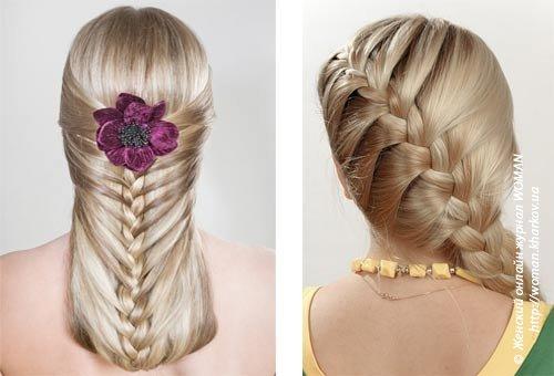 Шелковистая коса женская краса