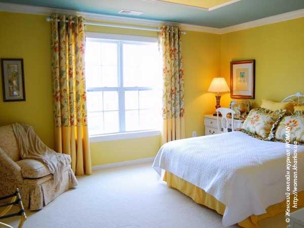 Влияние цвета спальни на взаимоотношения супругов