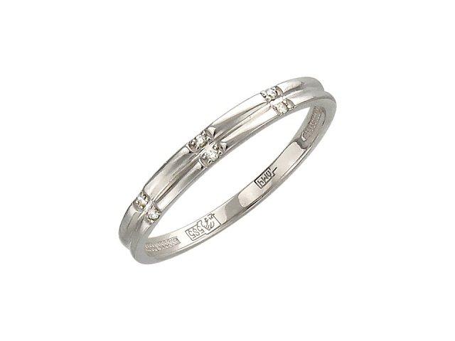 Обручальные кольца с бриллиантом - недорогой подарок любимой