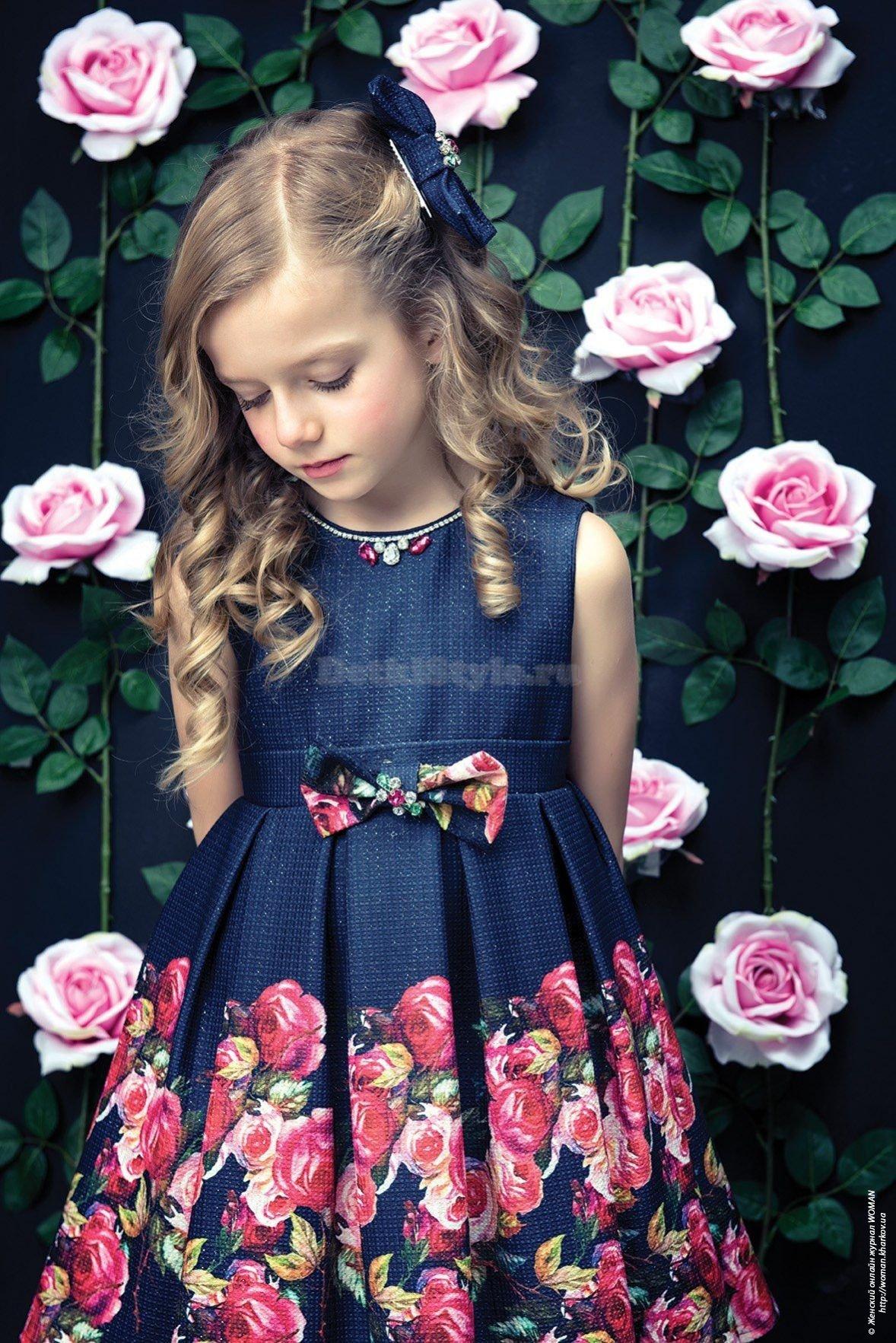 Нарядные турецкие платья для девочек