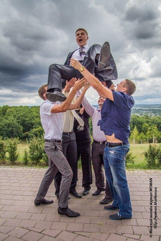 Оигинальные и интересные идеи для свадебной фотосессси