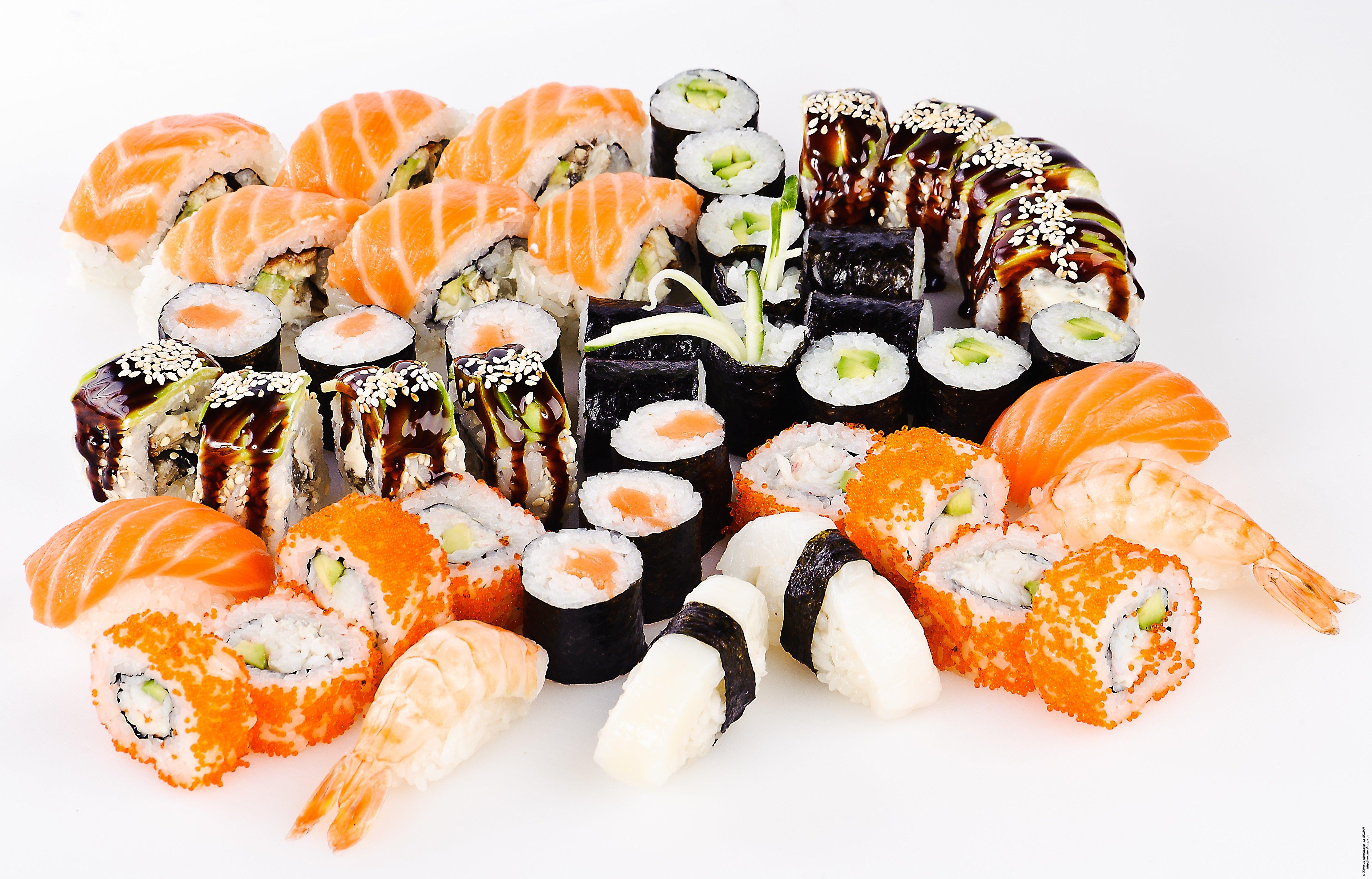 Как приготовить большой сет суши в домашних условиях