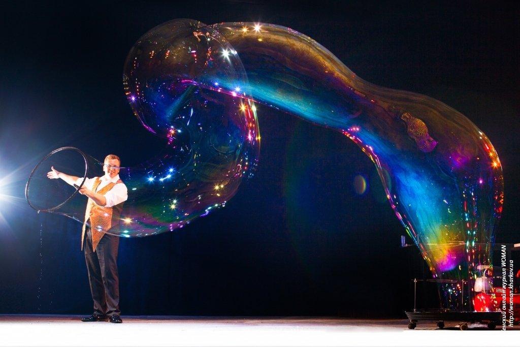 Шоу мыльных пузырей — волшебство на вашем празднике