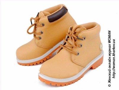 Выбираем детские ботинки для девочки