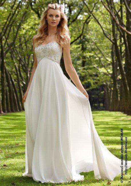 Современные фасоны свадебных платьев: выбираем наряд для невесты