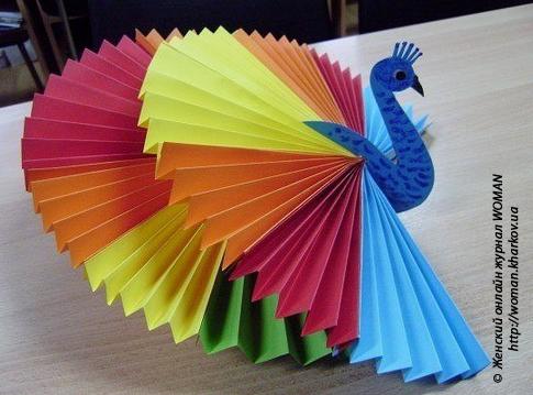 Изготавливаем поделки из бумаги совместно с детьми